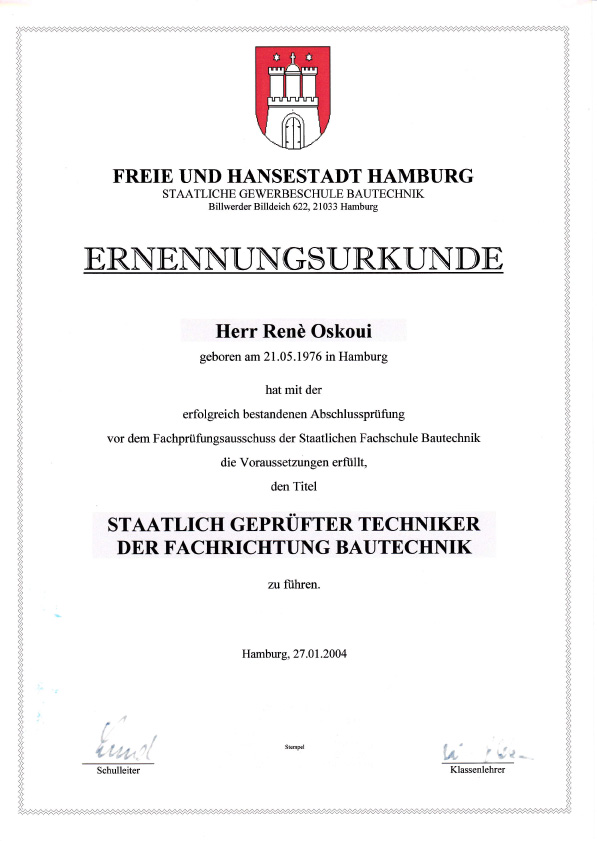 Ansprechpartner - Zimmerei Reinbek, Bergedorf, Hamburg — Zimmerei Oskoui